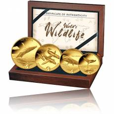 Goldmünzen Prestige Set Worlds Wildlife Der Wal 2020