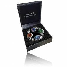 Silbermünzen - Prestig-Set The Four Winds 2020