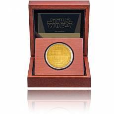 Goldmünze 1 oz Star-Wars Kollektion Todesstern PP 2020
