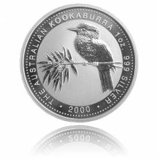 Austral. Kookaburra 1 Unze Silber (2000)