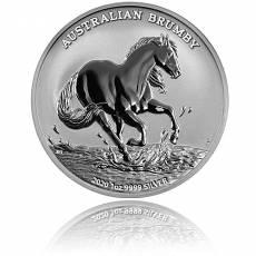 Silbermünze 1 oz Australian Brumby 2020 1. Ausgabe