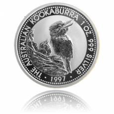 Austral. Kookaburra 1 Unze Silber (1997)