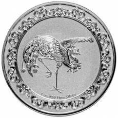 1 Unze Silbermünze Celestial Animals 3. Ausgabe The Red Phönix-Himmlische Tiere (2020)