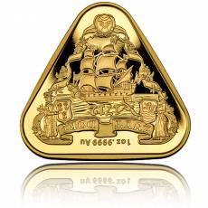 1 oz Goldmünze Zuytdorp-Schiffswracks - 3. Ausgabe 2020
