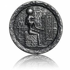 Silbermünze 1/2 oz Egyptian Cat Goddess Bastet Relic-Serie Ultra High Relief