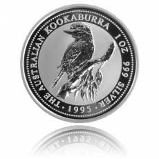 Austral. Kookaburra 1 Unze Silber (1995)
