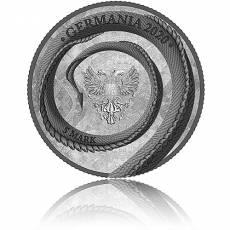 1 Unze Silber Germania Beasts Fafnir 2020 1. Ausgabe