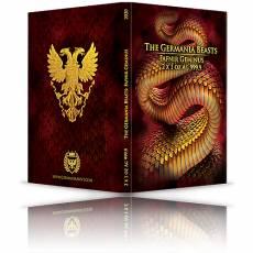 2 x 1 Unze Silber Germania Beasts Fafnir Limited Edition 2020 1. Ausgabe
