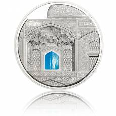 Silbermünze 3 oz Tiffany Art Isfahan Palau 2020