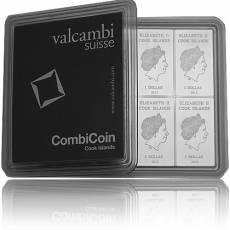 10 x 10 gramm Silber Tafelbarren