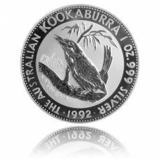 Austral. Kookaburra 1 Unze Silber (1992)