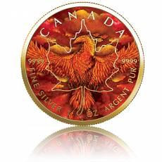 Silbermünze 1 oz Rising Phoenix Edition - Maple Leaf 2020
