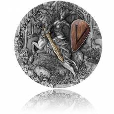 Silbermünze 2 oz Woman Warrior Walküre High Relief 2020