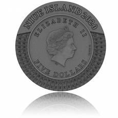 Silbermünze 2 oz Himmelsstämme Irdischen Zweigen Ancient Calendars High Relief 2020