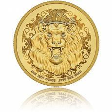 Goldmünze 1 oz Roaring Lion Truth Serie Polierte Platte 2020