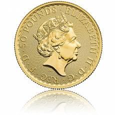 Britannia 1/2 Unze Goldmünze  2021