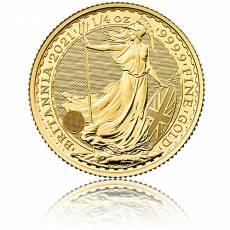 Britannia 1/4 Unze Goldmünze  2021