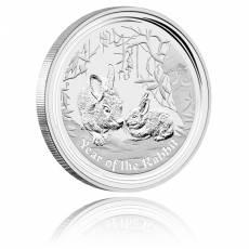 Australien Lunar II Hase 2oz Silber