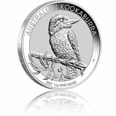 1 Unze Silbermünze Austral. Kookaburra 2021