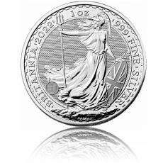 Britannia 1 Unze Silber (2021)