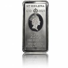 Münzbarren 250 gramm Silber St. Helena The East India Company 2021