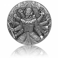 Silbermünze 2 oz Tossakan Ravana Ramakien 2020