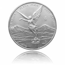 Mexicanische Libertad 1 Unze 999/1000 Silber in orginal F15 Kapsel (2012)