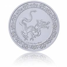 1 Unze Silbermünze Celestial Animals 4. Ausgabe Yellow Snake-Himmlische Tiere 2020