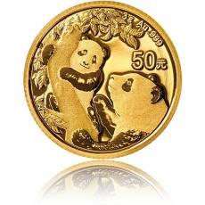 China Panda 3 gramm Gold (2021)