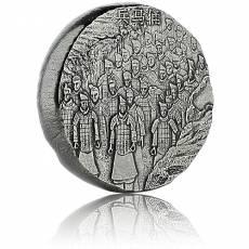 5 Unzen Silbermünze Terracotta Army 2020