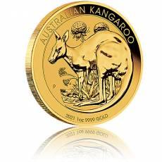 Australien Känguru 1 Unze Gold 2021