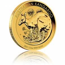 Australien Känguru 1/2 Unze Goldmünze 2021