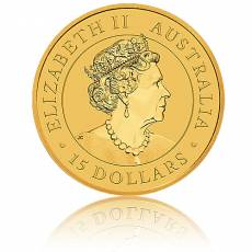 Australien Känguru 1/10 Unze Goldmünze 2021