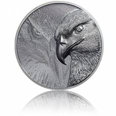 Silbermünze 2 oz Majestic Eagle Black Proof 2020