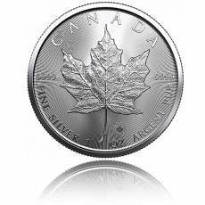 1 Unze Silbermünze Maple Leaf 2021