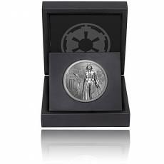 1 Unze Silbermünze PP Star Wars Classic Darth Vader 2016 - 1. Motiv