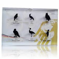 Sammelbox für 20 Euro Goldmünzen Heimische Vögel ohne Münzen