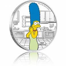 Silbermünze 1 oz The Simpsons Marge PP farbig 2019 3. Ausgabe