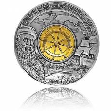 Silbermünze 3 oz 500. Jahrestag Ferdinand Magellan 2021