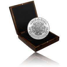 Silbermünze 1 kg Archival Treasures: 1912 Heraldic Design PP 2021
