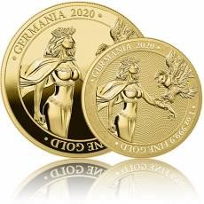 2 x 1 oz Gold Germania 100 Mark PP + BU (2020) 2. Ausgabe