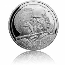 1 oz Silber Icons of Inspiration Galileo Galilei 2021
