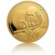 1 oz Gold Icons of Inspiration Galileo Galilei 2021