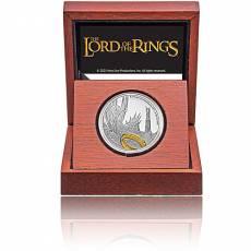 1 oz Silbermünze Der Herr der Ringe Classic - Sauron  1. Motiv 2021