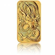 1 oz Goldmünze Perth Mint - Rectangular Dragon 2021