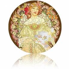 Silbermünze 3 oz Reverie by Mucha Micropuzzle PP 2021