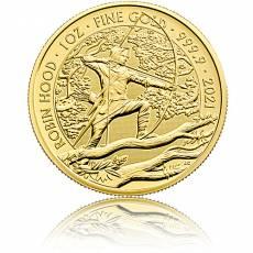 Goldmünze Mythen und Legenden Robin Hood 1. Ausgabe 2021