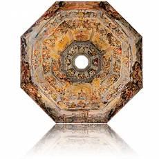 Silbermünze 1 kg Fresco under The Dome Florence Cathedral Brunelleschi Vasari 2014