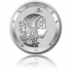 Silbermünze 1 oz Jungfrau Tierkreiszeichen 2021