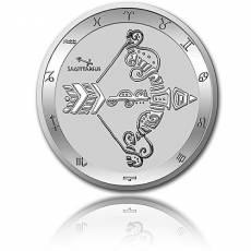 Silbermünze 1 oz Schütze Tierkreiszeichen 2021